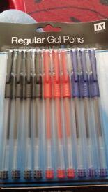 Regular gel pens pack of 10