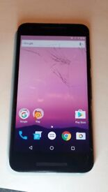 LG Nexus 5X lcd screen ONLY, cracked UNTESTED - READ DESCRIPTION