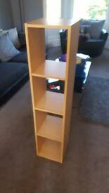 Wooden Ikea Bookcase / file store