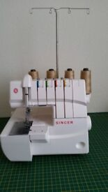 SINGER COVER STITCH MACHINE 14T970C - AS NEW