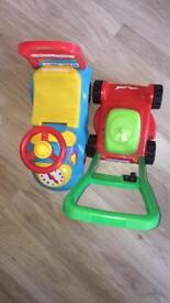 Toys lawnmower and vehicle drive