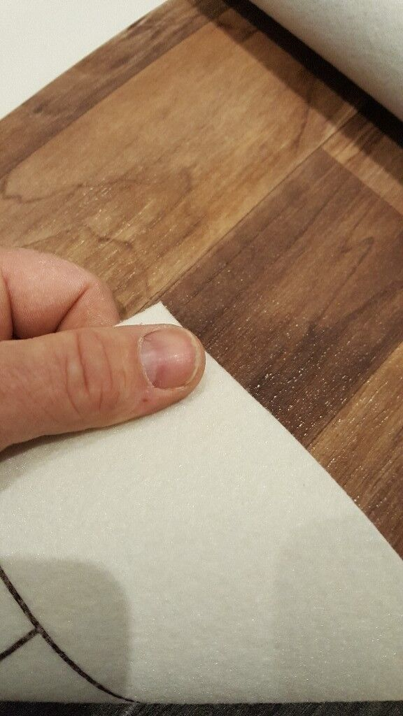 Wood Effect Felt Backed Vinyl Much Cheaper Than Wood And Now