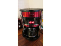 Red Morphy Richards Filter Coffee Maker For Sale