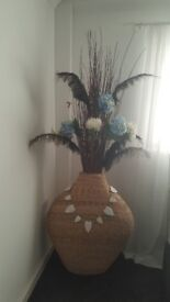 Ex large banana leaf vase