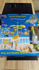 vtech baby sing and soothe mobile