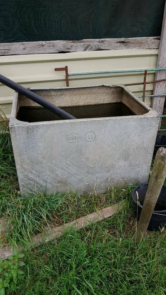 Galvanized water tank | in North Walsham, Norfolk | Gumtree