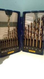 Irwin 15 pc Cobalt Drill Bit Set