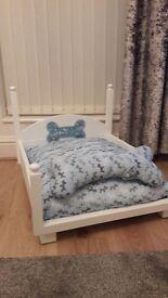 Beautiful vintage dog beds