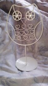 Owl jewellery holder