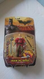 Batman Begins Ras Al Ghul Action Figure Mattel BNIB