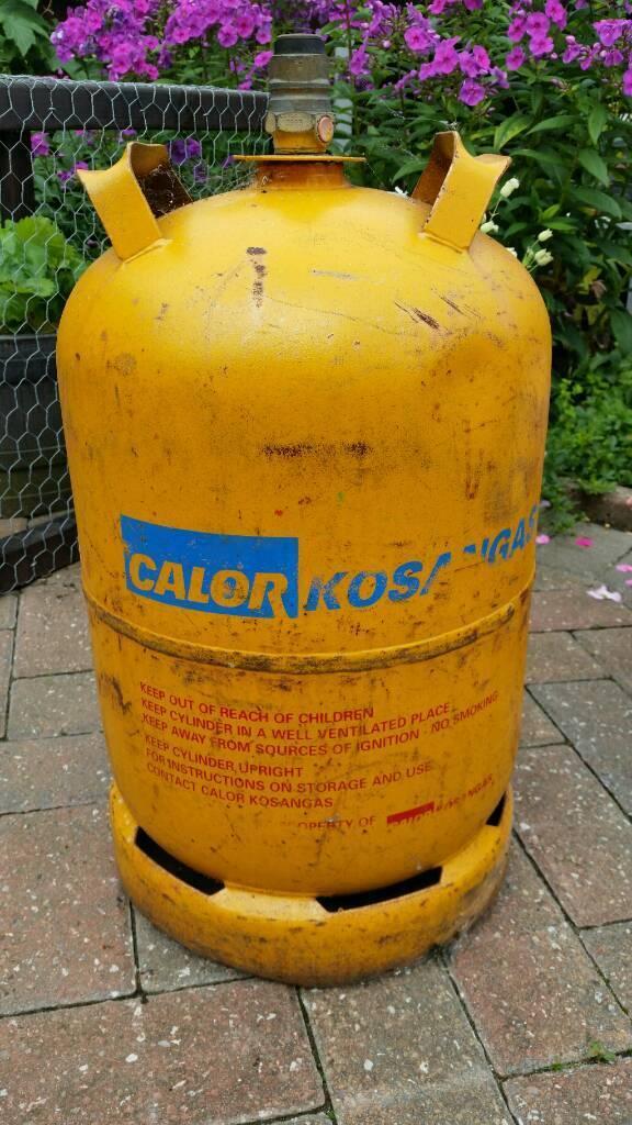 CALOR GAS BOTTLE LOG BURNER BARBECUE