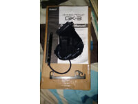 Roland Gk3 Pickup and Bridge Plate and Manual.