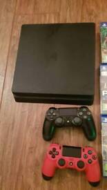 Playstation 4 used a hand full of times