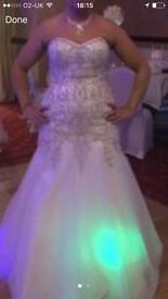 Wedding dress size 14