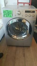LG 8KG LOAD 1200 SPIN WASHING MACHINE IN SILVER