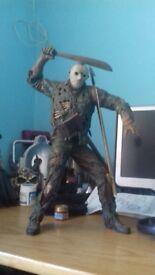Talking Freddy and Jason statues