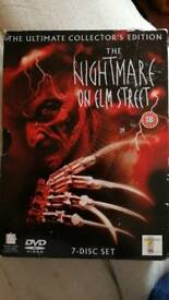 The Nightmare On Elm Street: Ultimate Collectors Edition Box Set