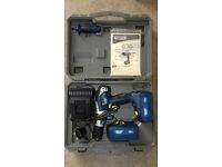 Draper Expert 18v drill with 2 batteries