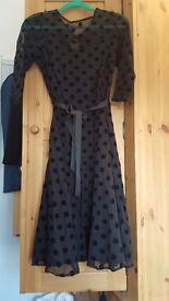 ROMAN size 14 black dress