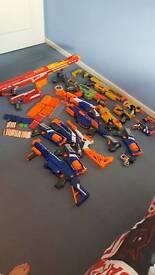 Nerf guns x19