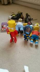 Bart Simpson Converse and toys