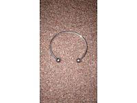 Mens silver bracelet