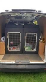 Dog Cages Van x2