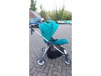 Travel system armadillo flip xt/carrycot /pushchair