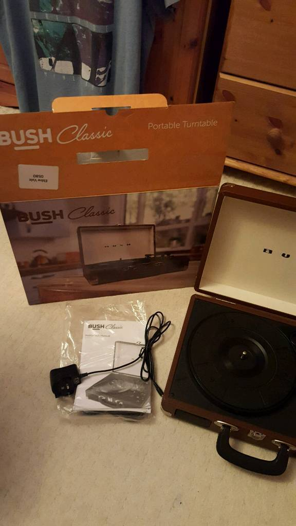 Bush record player