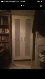 White wardrobe / clothes cupboard