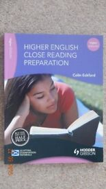 Higher English Close Reading Preparation Hodder Gibson