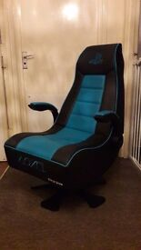 Gaming chair X-Rocker officially licensed by playstation