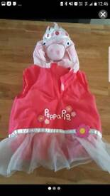 Peppa pig costume