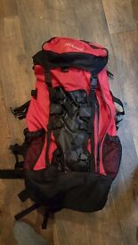 Proaction 90 litre expanding hiking backpack REDUCED PRICE