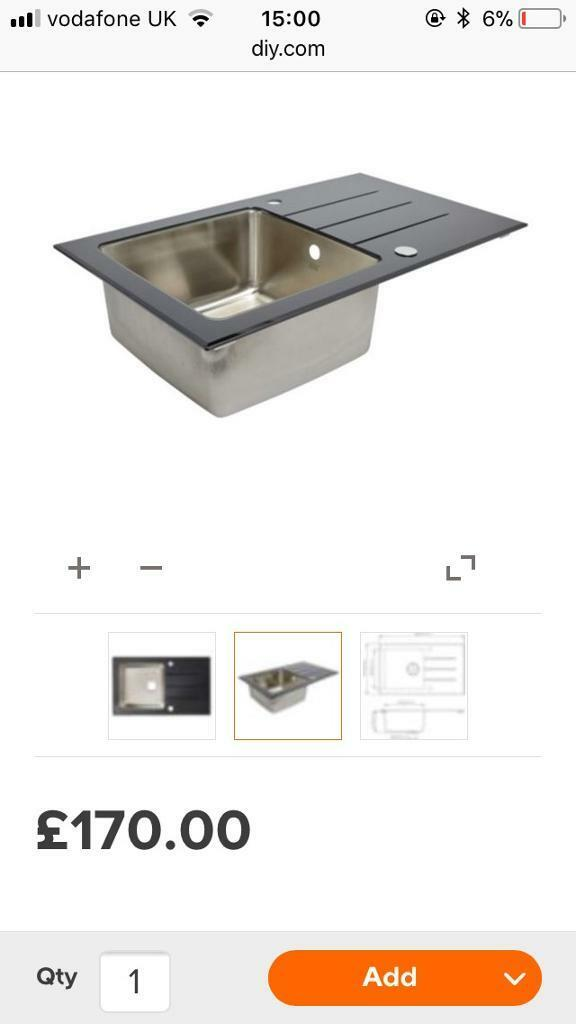 Cooke & Lewis kitchen sink, brand new | in Filton, Bristol | Gumtree