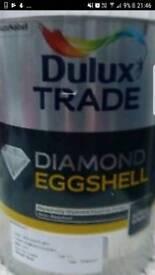Dulux diamond eggshell 5l jade White RRP 60