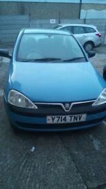 Vauxhall Corsa (2001) spares/ repairs