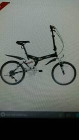 Folding mounting bike
