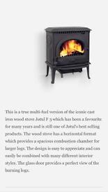 Jotul MF3 Multi fuel / Wood burning stove RRP £1500
