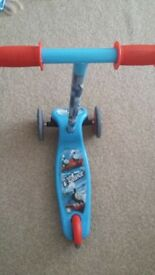 thomas 3 wheels scooter