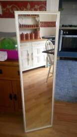 Full length vintage mirror