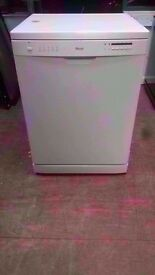 Swan White A+ Class 12-Place Dishwasher in great condition. Price £65