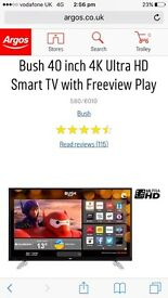 42inch 4K ultra HD smart TV