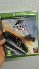 NEW AND SEALED forza horizon 3 for xbox one
