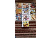 Pink Nintendo DS Lite + 10 games, charger, 2 carry bags