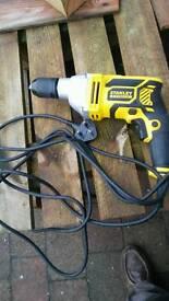 Stanley fatmax hammer drill.