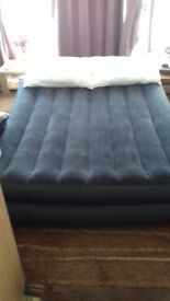 Intex Double Airbed with built in inflator