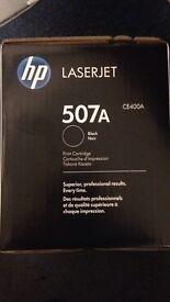 HP Laserjet 507A black print cartridge