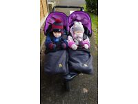 Lost double buggy in Queen's Gate Road Kensington. Precious when you have twins