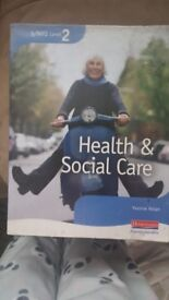 2 for sale S/NVQ Level 2 Health & Social careCollette Burgess & Yvonne Nolan